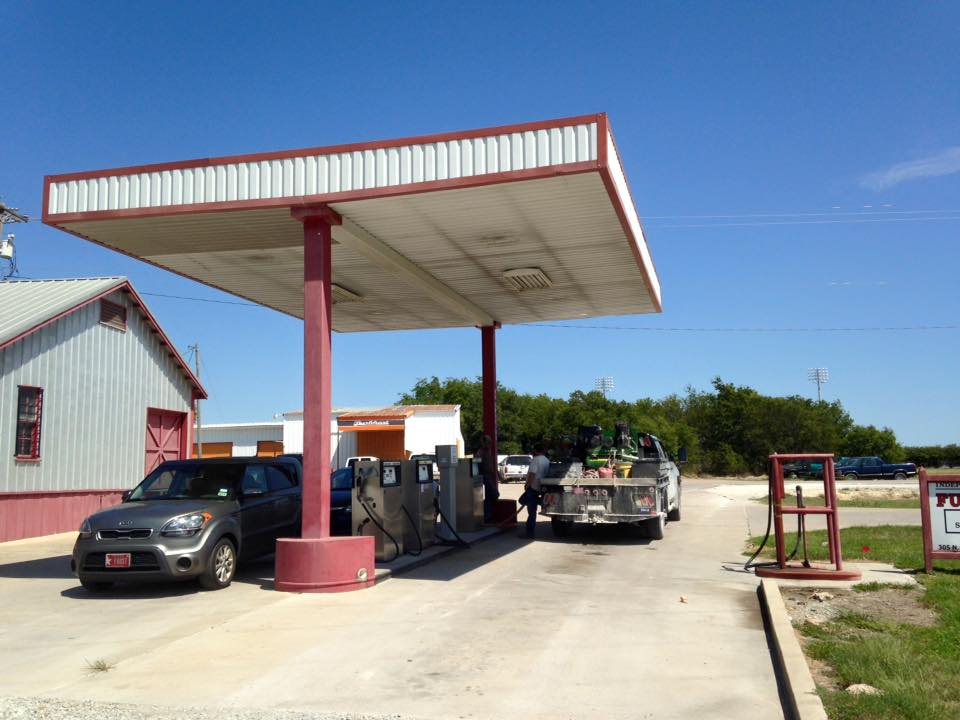 Getting gas before heading home  Photo Credit  Terry Leifeste
