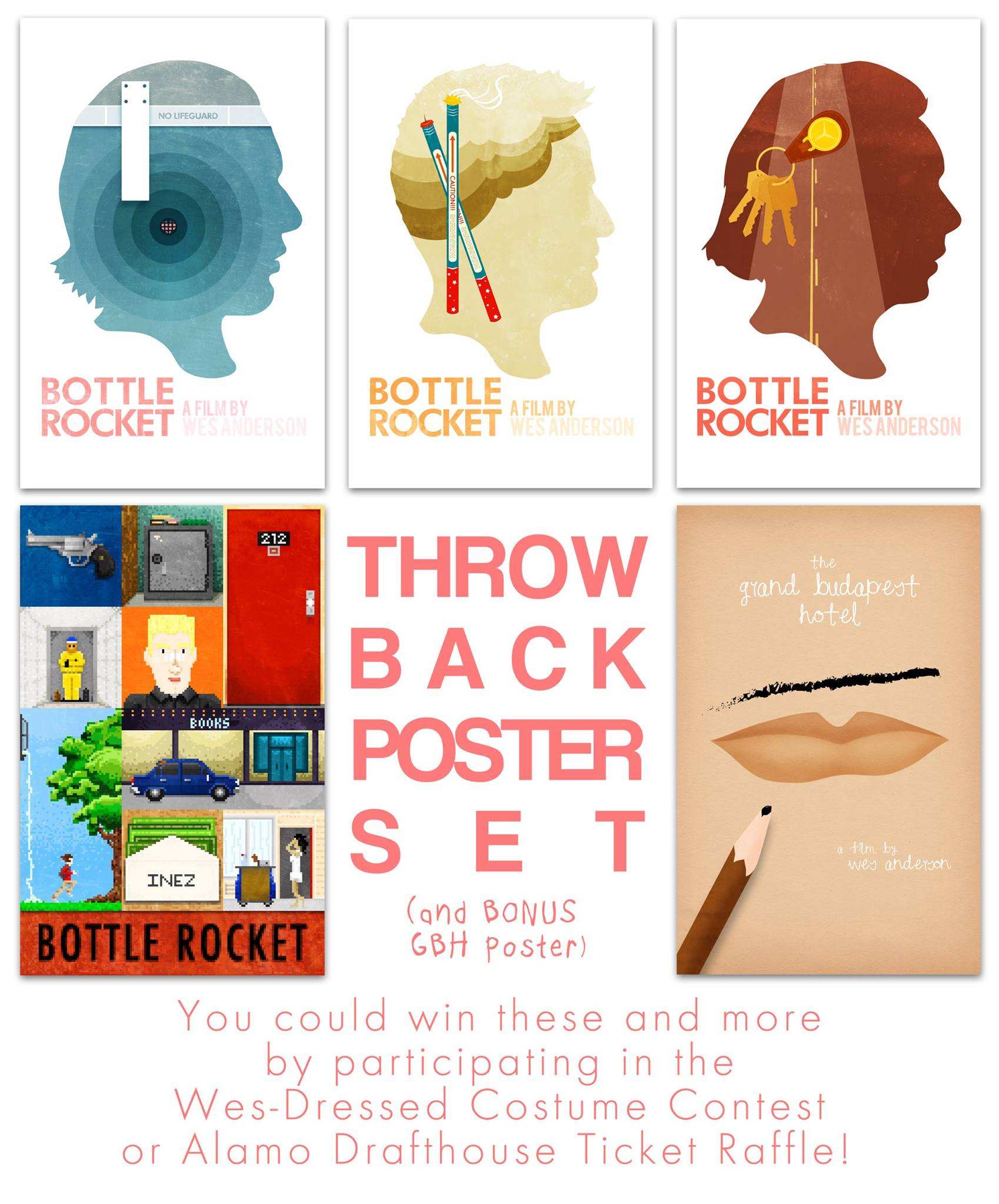 Throw Back Poster set for Wes Dressed Costume Contest - Winner Teresa Powell
