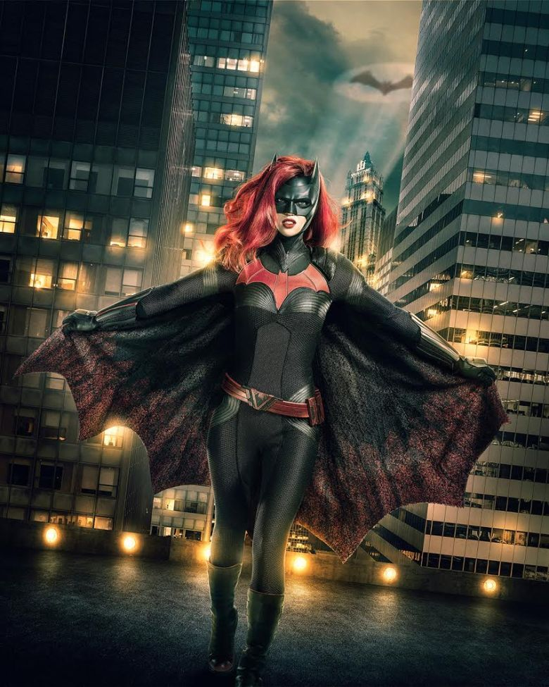 Ruby Rose as Kat Kane, Batwoman.