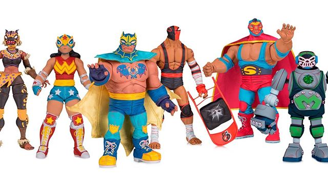 DC Collectibles has already won Toy Fair 2019! #Batman #Superman #Wonderwoman #LuchaLibre #DC #DCCollectibles #ToyFair