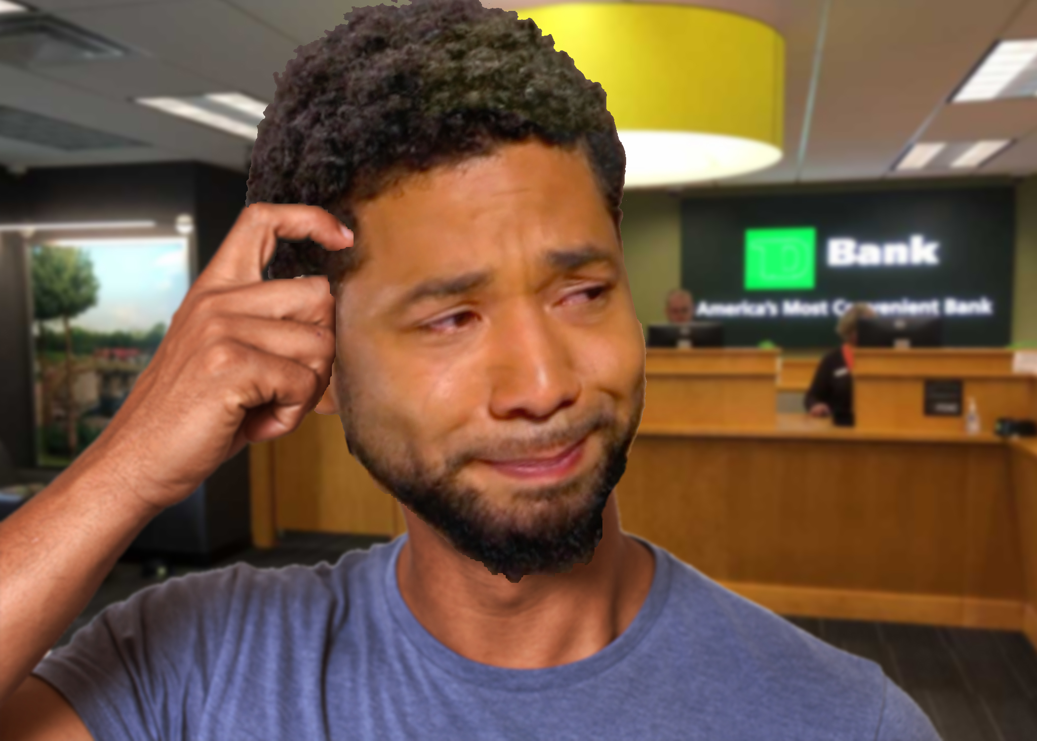 The Satricalist - JUSSIE SMOLLETT'S HIRED HENCHMAN FORCED TO CHARGE HIM $25 BOUNCED CHECK FEE