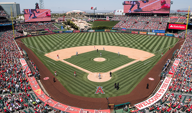 Los Angeles Angels - Angels Stadium of Anaheim