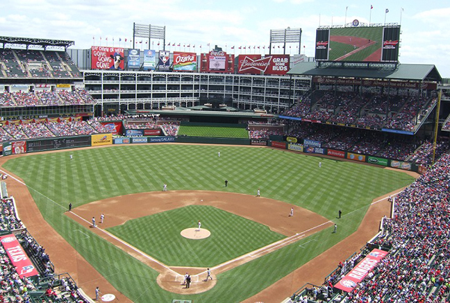 Texas Rangers - Globe Life Park
