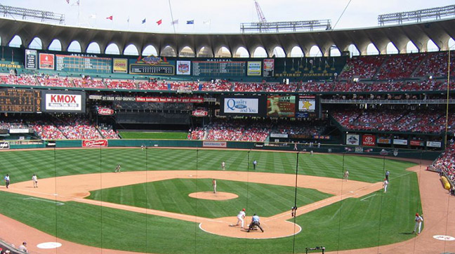 St. Louis Cardinals - Busch Memorial Stadium (*defunct)