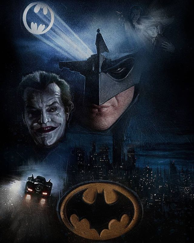 30 years ago Batman was released and paved the road for the superhero movies we all know and love today. Though DC's road is arguably the rockiest, without them where would we be today. //ORIGINAL CONCEPT POSTER ART BY PAUL SHIPPER// ... #Batman #Joker #TimBurton #30Years #WB #Superhero #Movie #Poster #MoviePoster #1989 #DCU #DCUniverse #DCEU #MichealKeaton #JackNicholson
