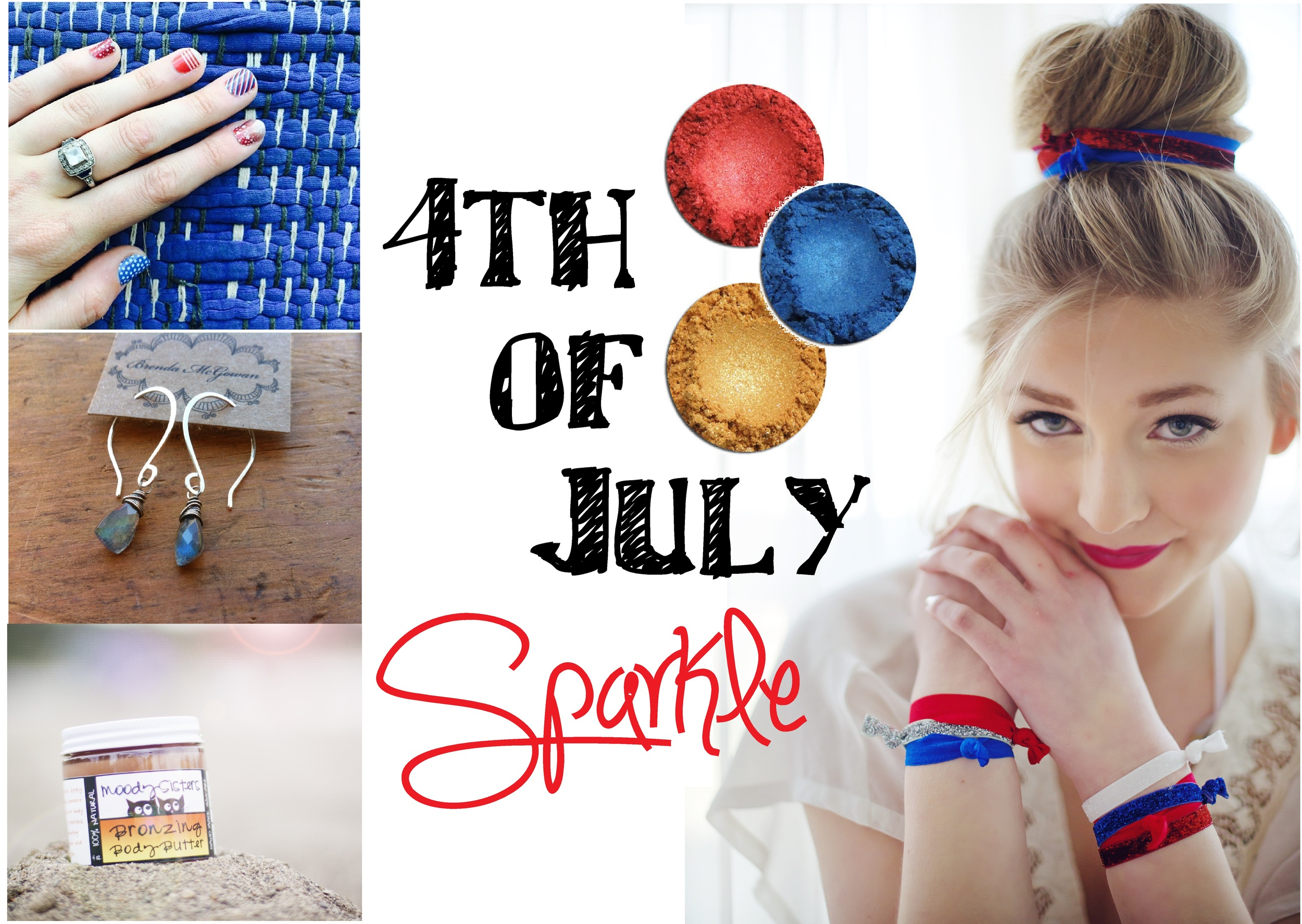 4th of july sparkle beauty guide