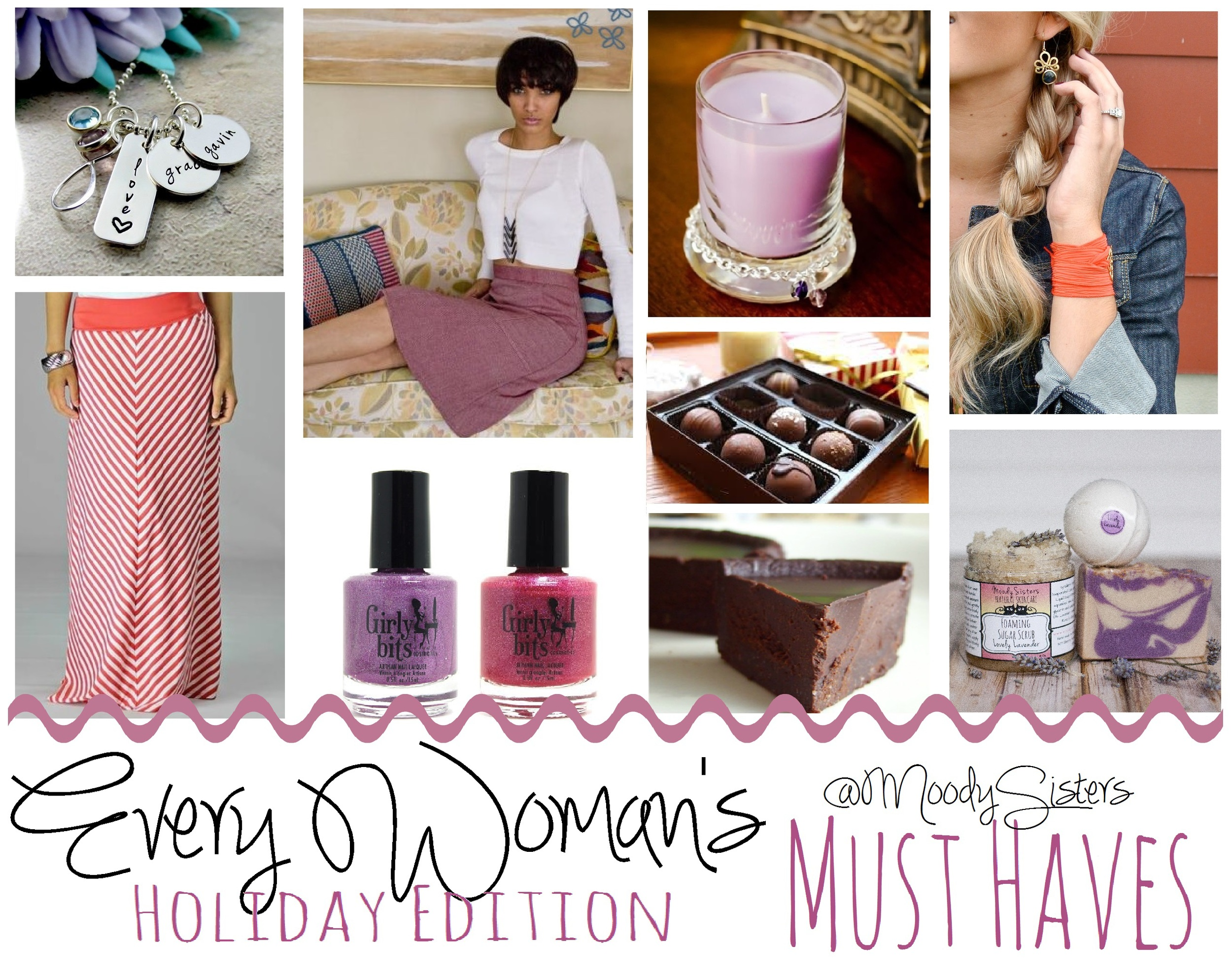 Moody Sisters Natural Skincare Holiday Gift Guide 2014