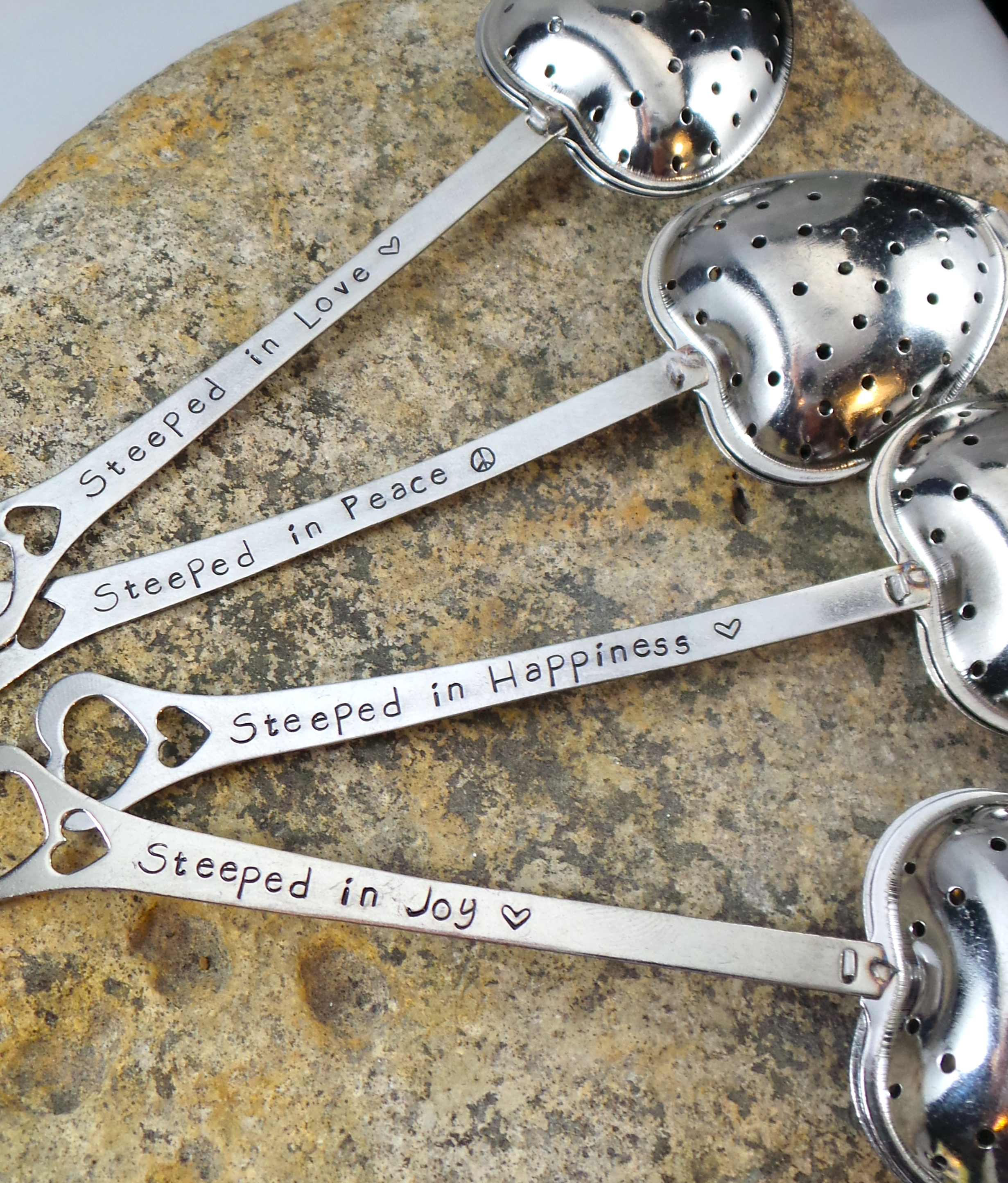 Stamped Frosting Tea Infusers