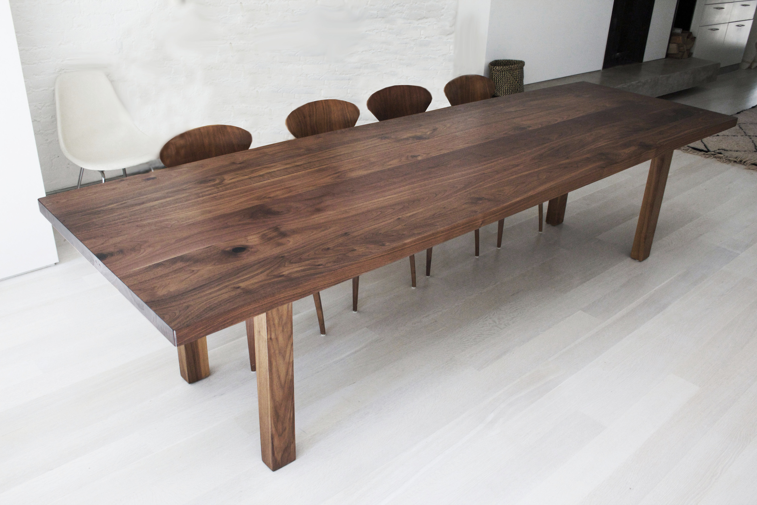 Clermont Walnut Dining Table 1