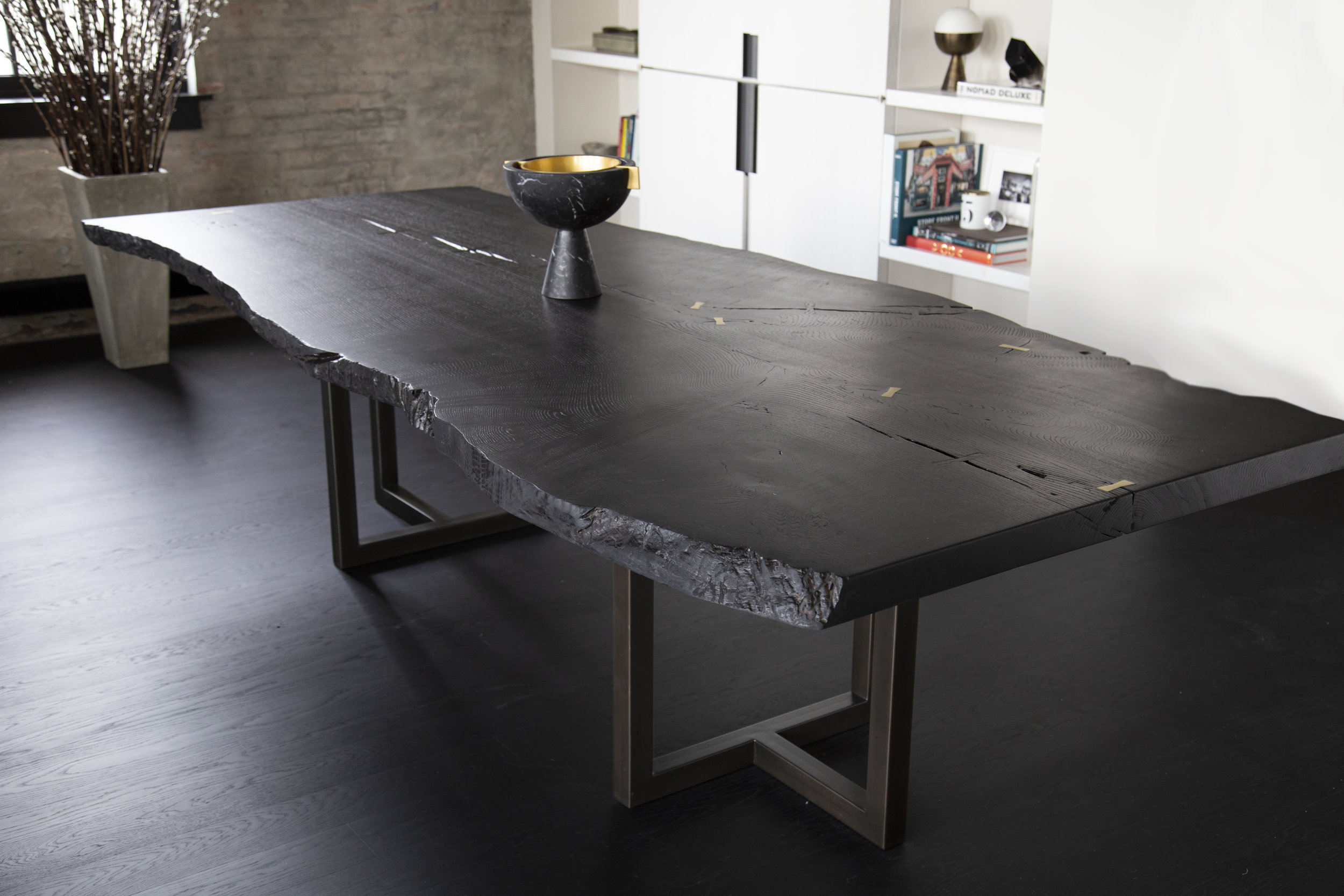 Mandler Live Edge Dining Table