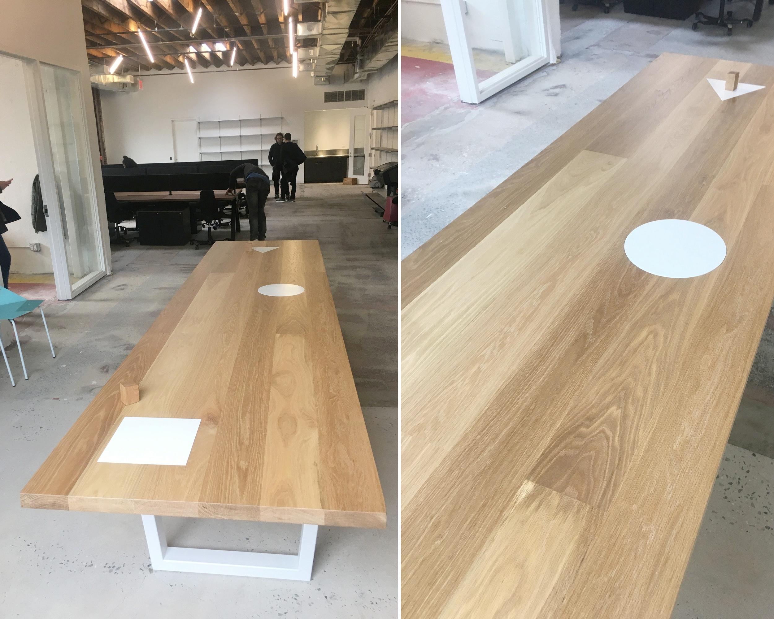 Mini Cooper Conference Table