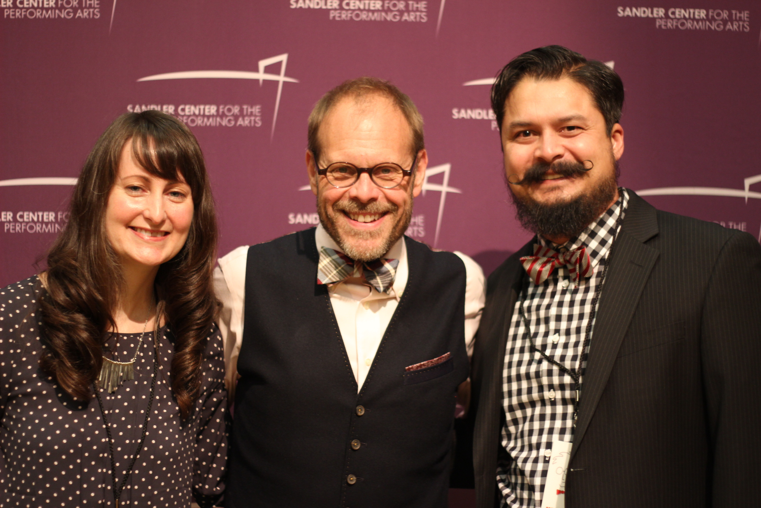 Shelby, Alton Brown, and me!