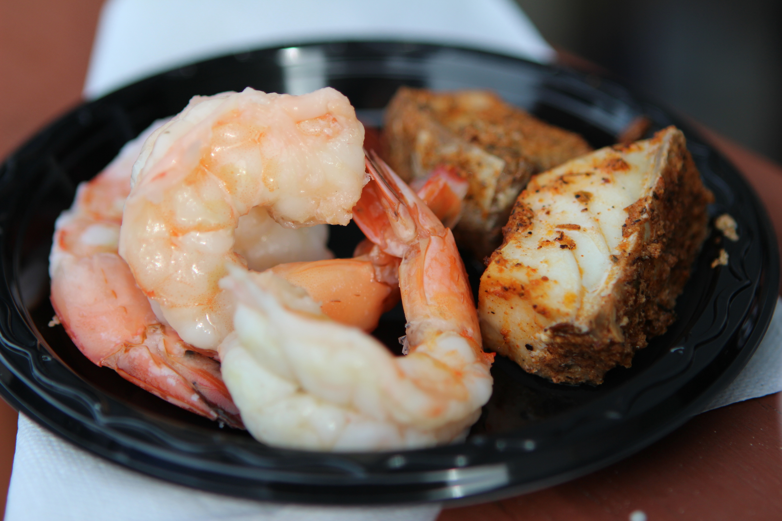 Shrimp and Rockfish Bites