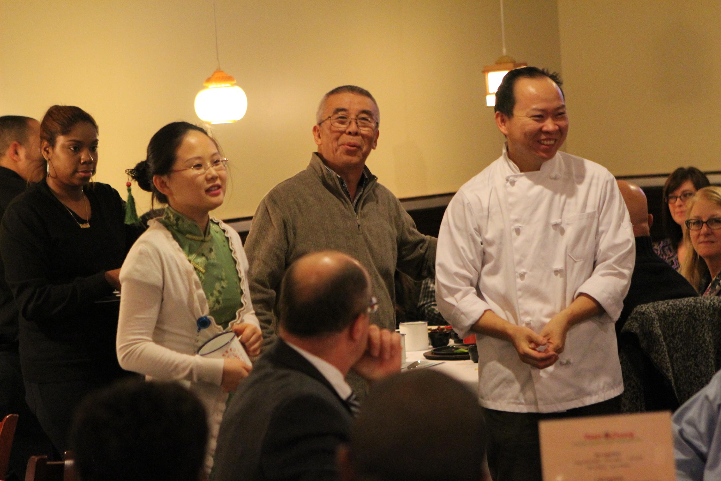 Apple, Gen Lee, and Peter Chang