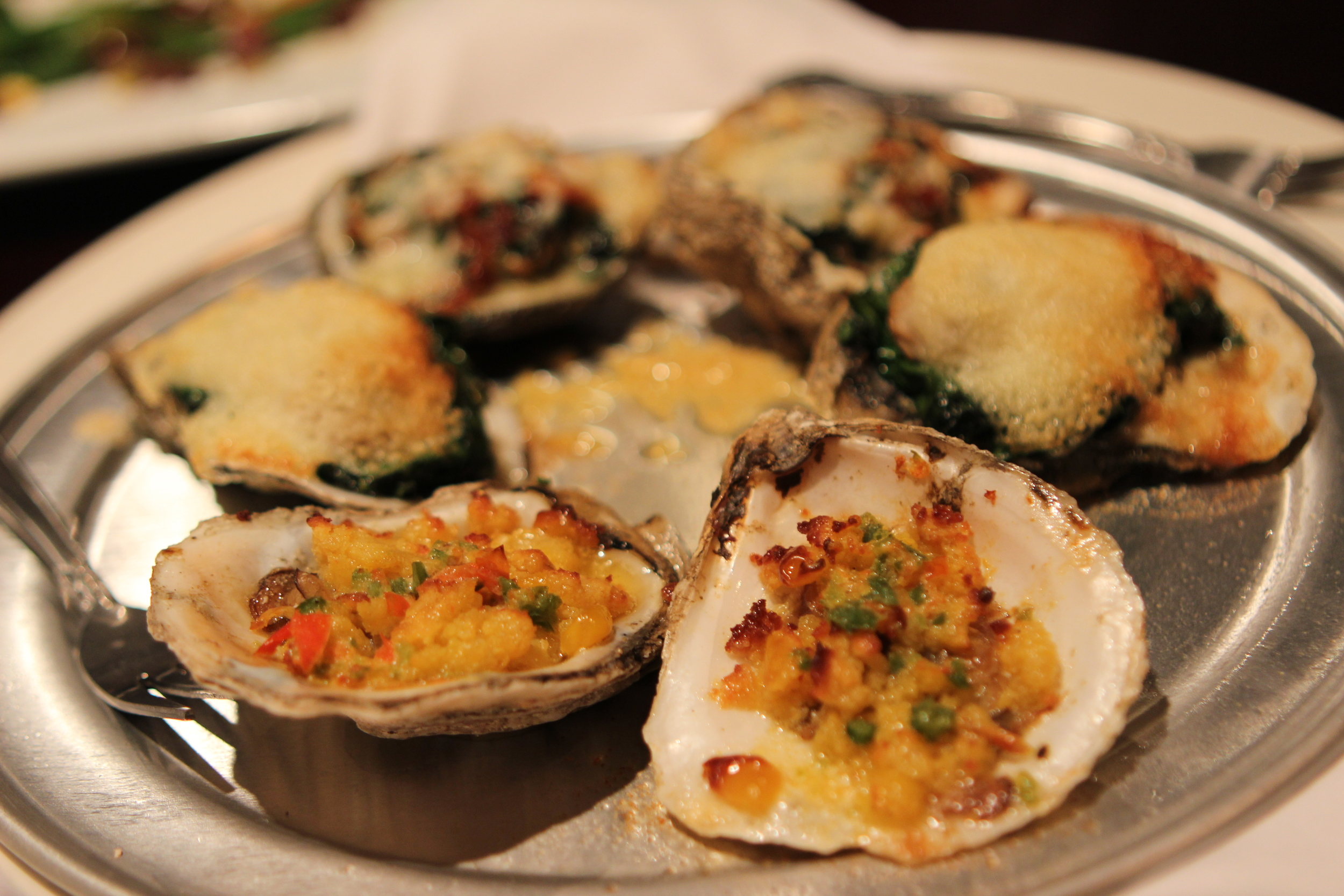 Roasted Oyster Assortment