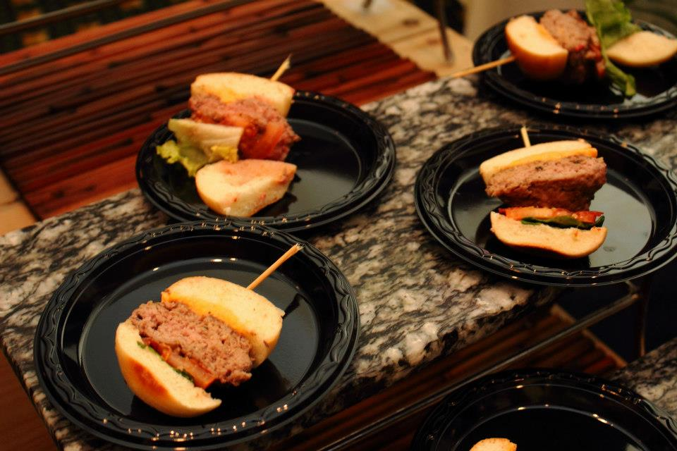 Shelby's favorite from last year's event: Lamb Sliders from Traditions at Williamsburg Lodge