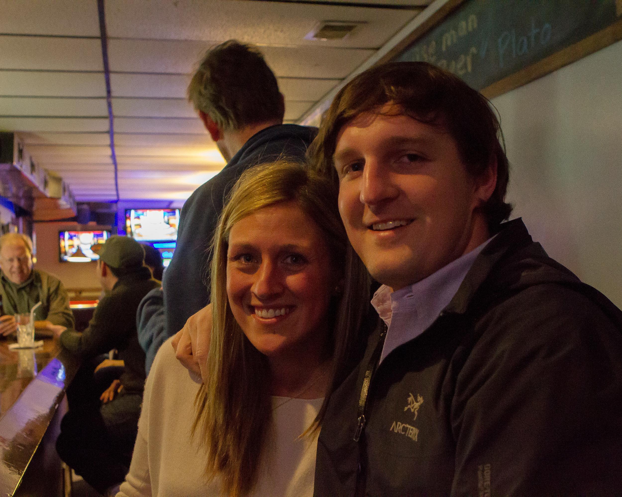 Anne and Josh Hazard