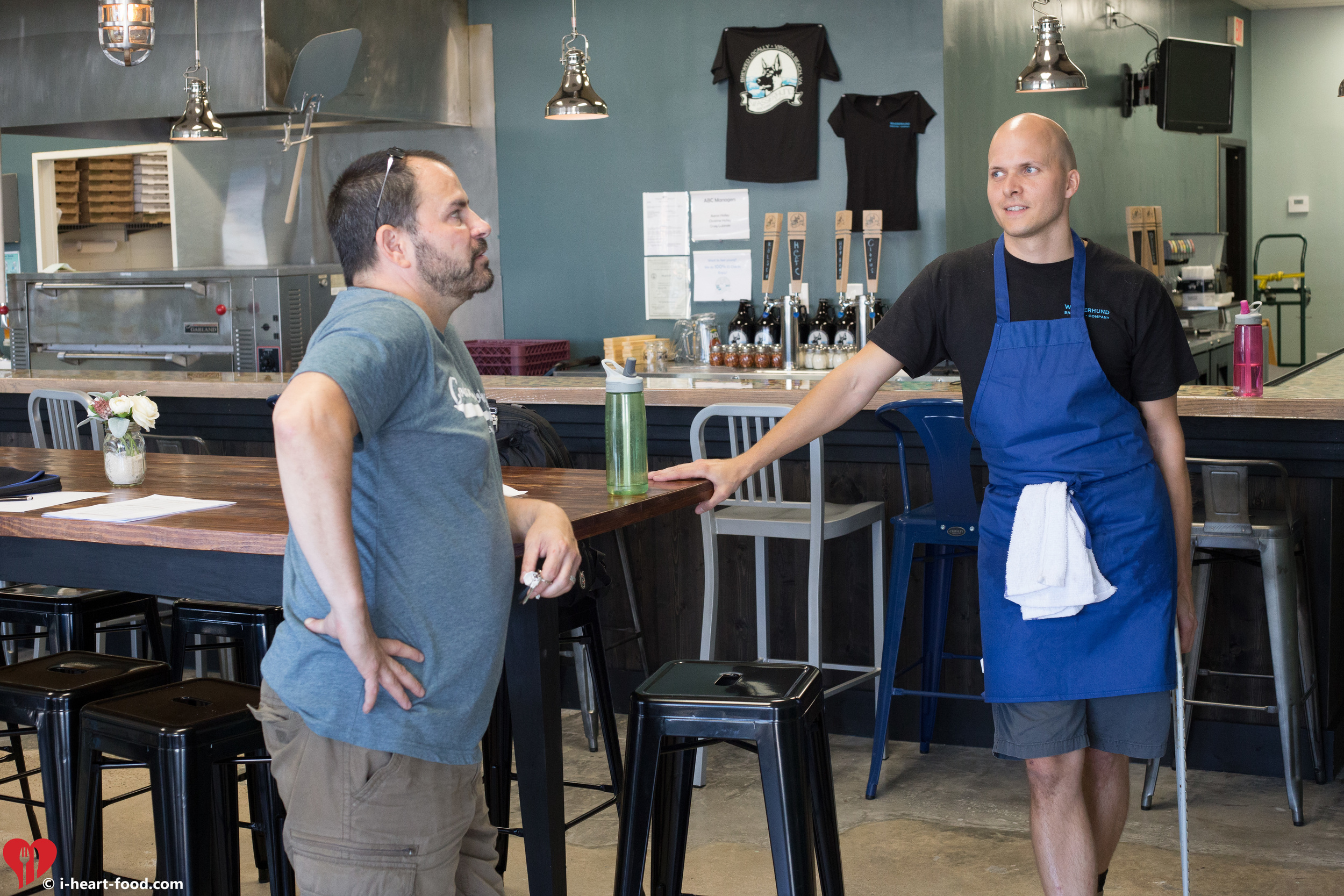 Kevin Erskine of  Coelacanth Brewing  chats with Craig Lubinski andchecks out the new Virginia Beach Brewery.