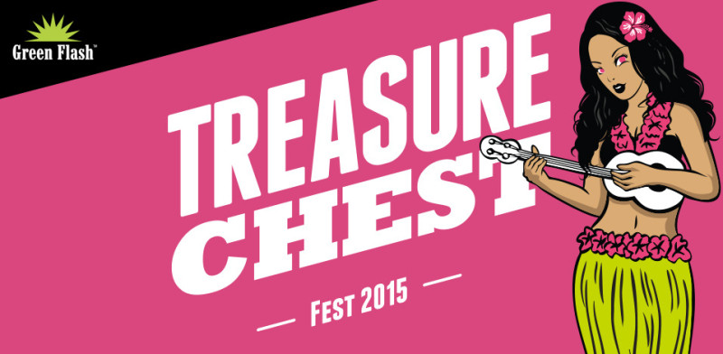 """This year's Treasure Chest icon - """"Hula Gal"""""""