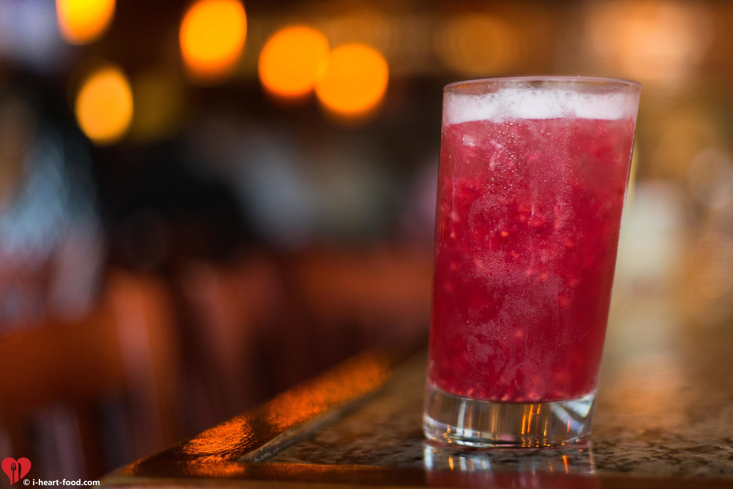 Raspberry Vodka Collins