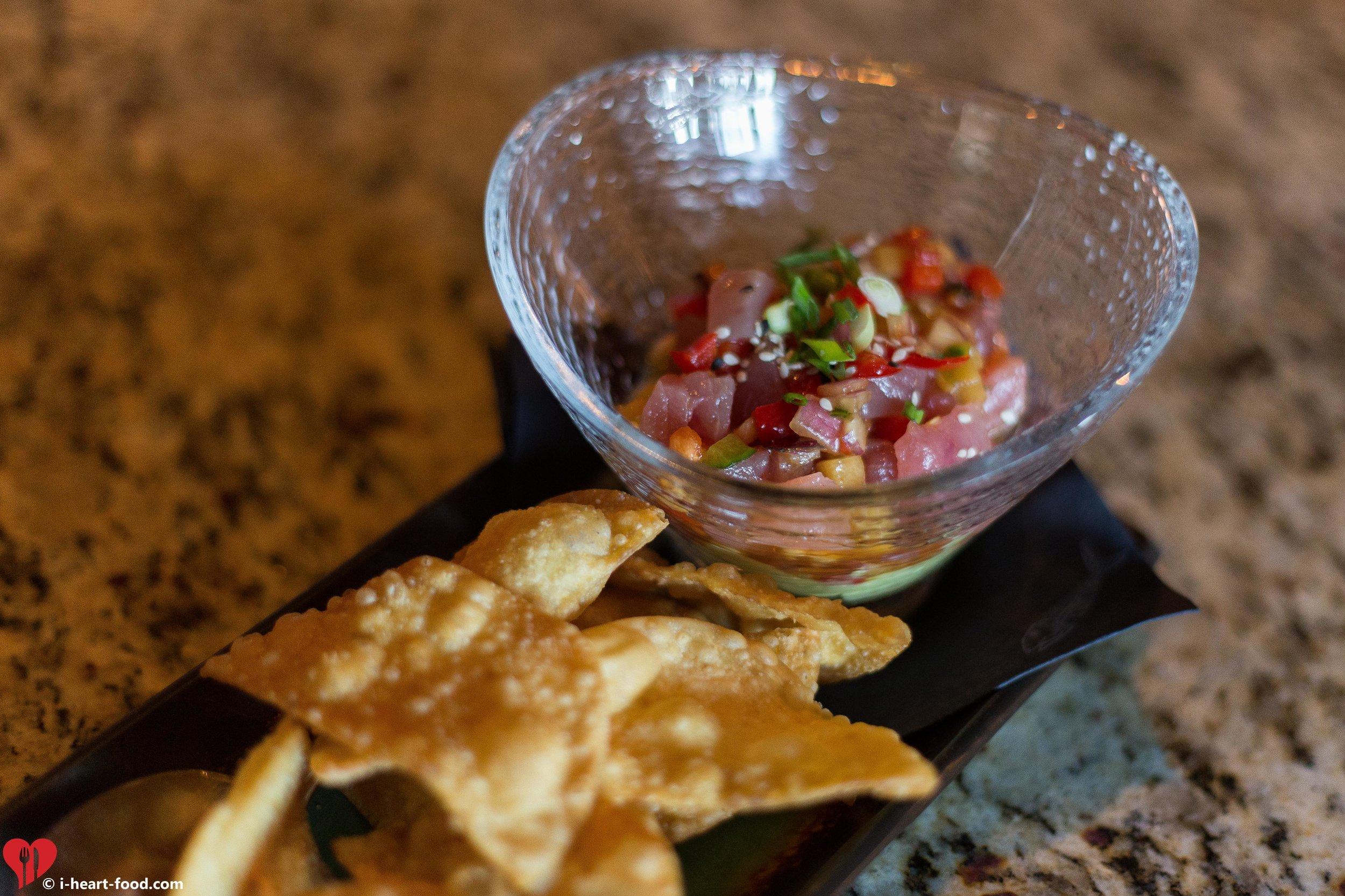 Ahi Tuna Poke, our favorite off the menu!
