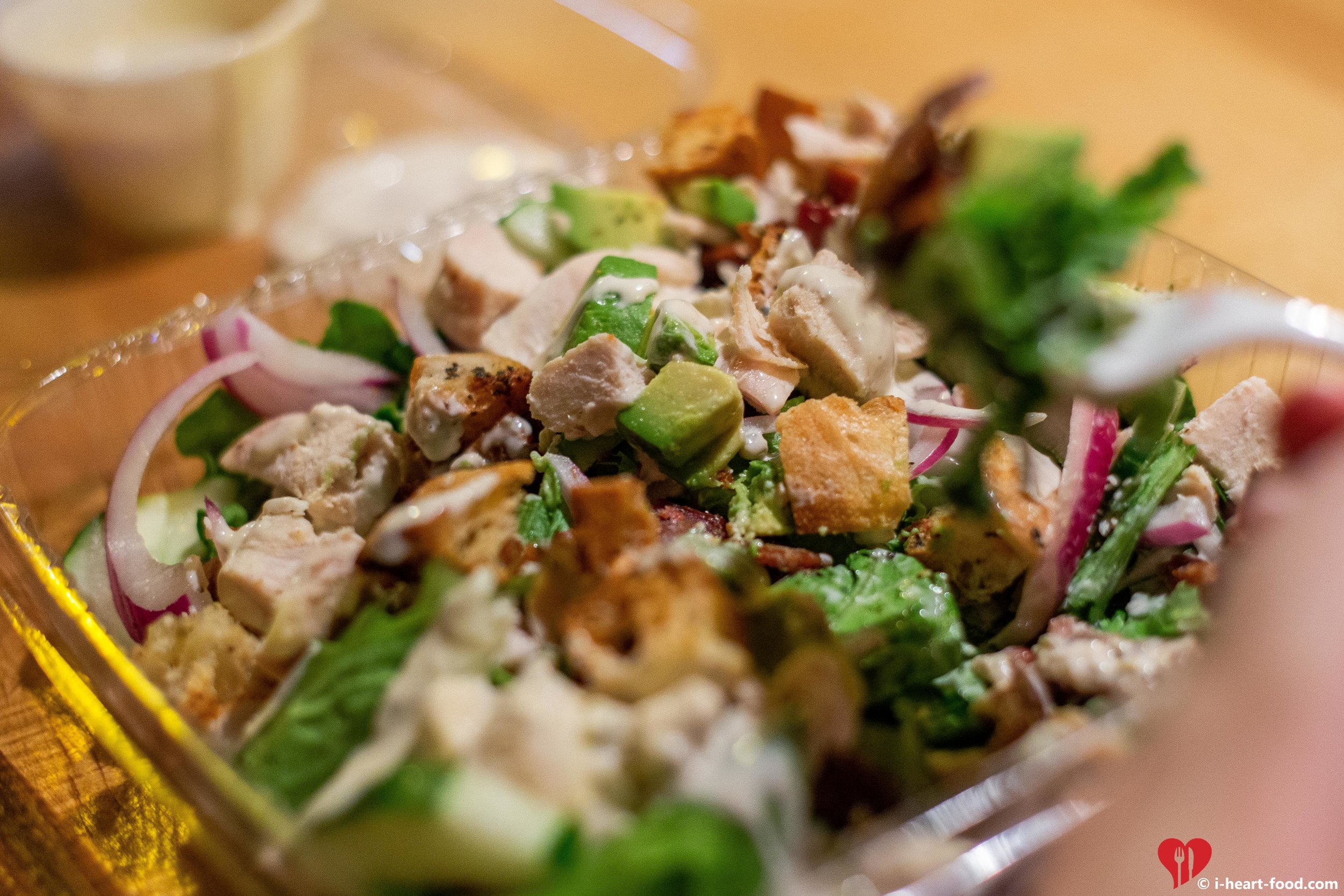 The Ten Top's Cobb Salad with Chicken