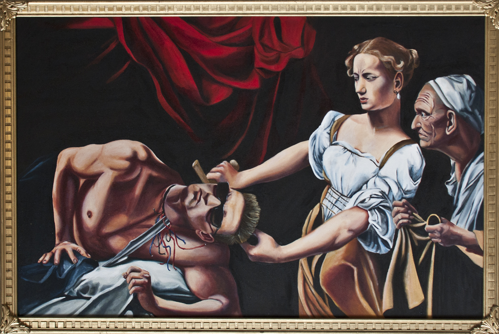 Judith Beheading Arnold as Holofernes