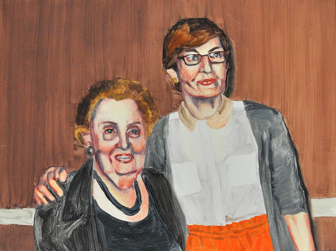 Madeleine and I