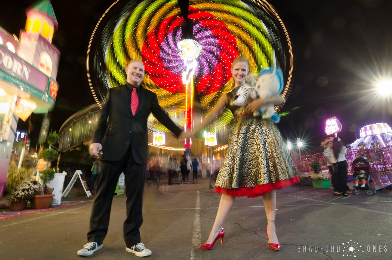 Sip and Twirl Wedding Engagement Photos by Bradford Jones