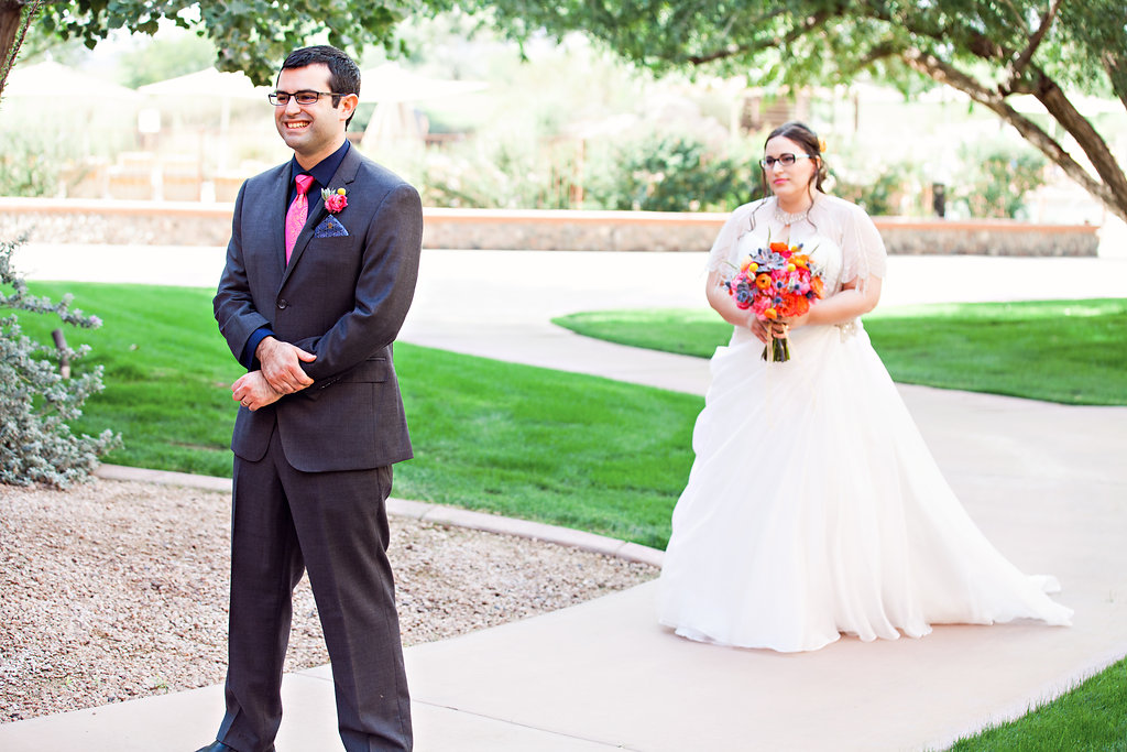 bride and groom-first-look