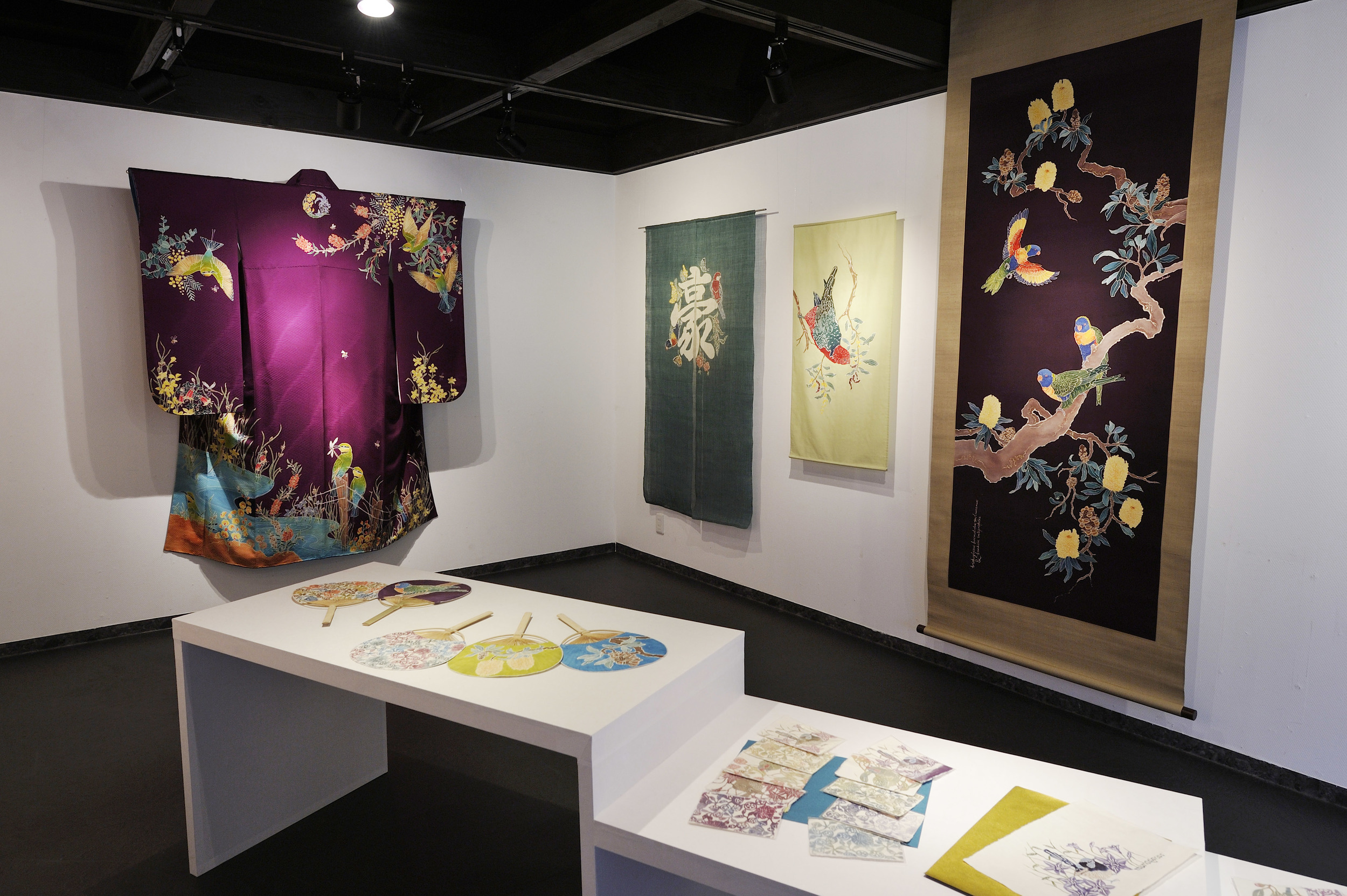 Dyeing Birds & Flowers - Solo Show 2013