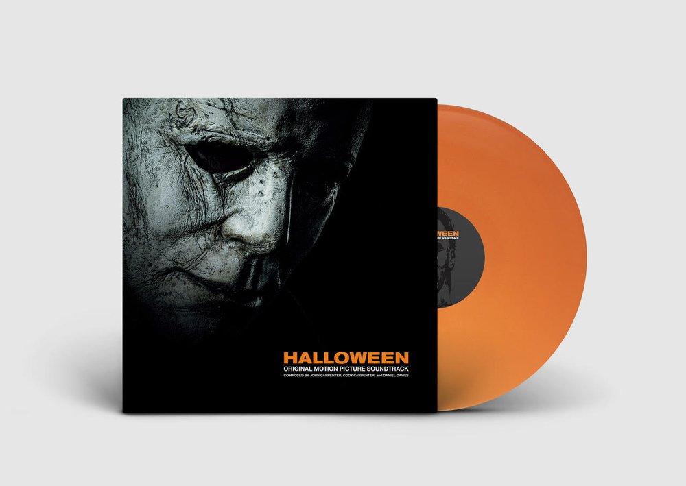 "Limited Orange Vinyl- John Carpenter's ""Halloween"" Original Soundtrack Available at midnight on 10/19"