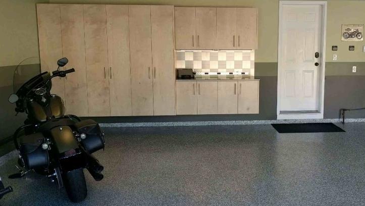 Birch Garage Cabinets by OUT WEST GARAGE