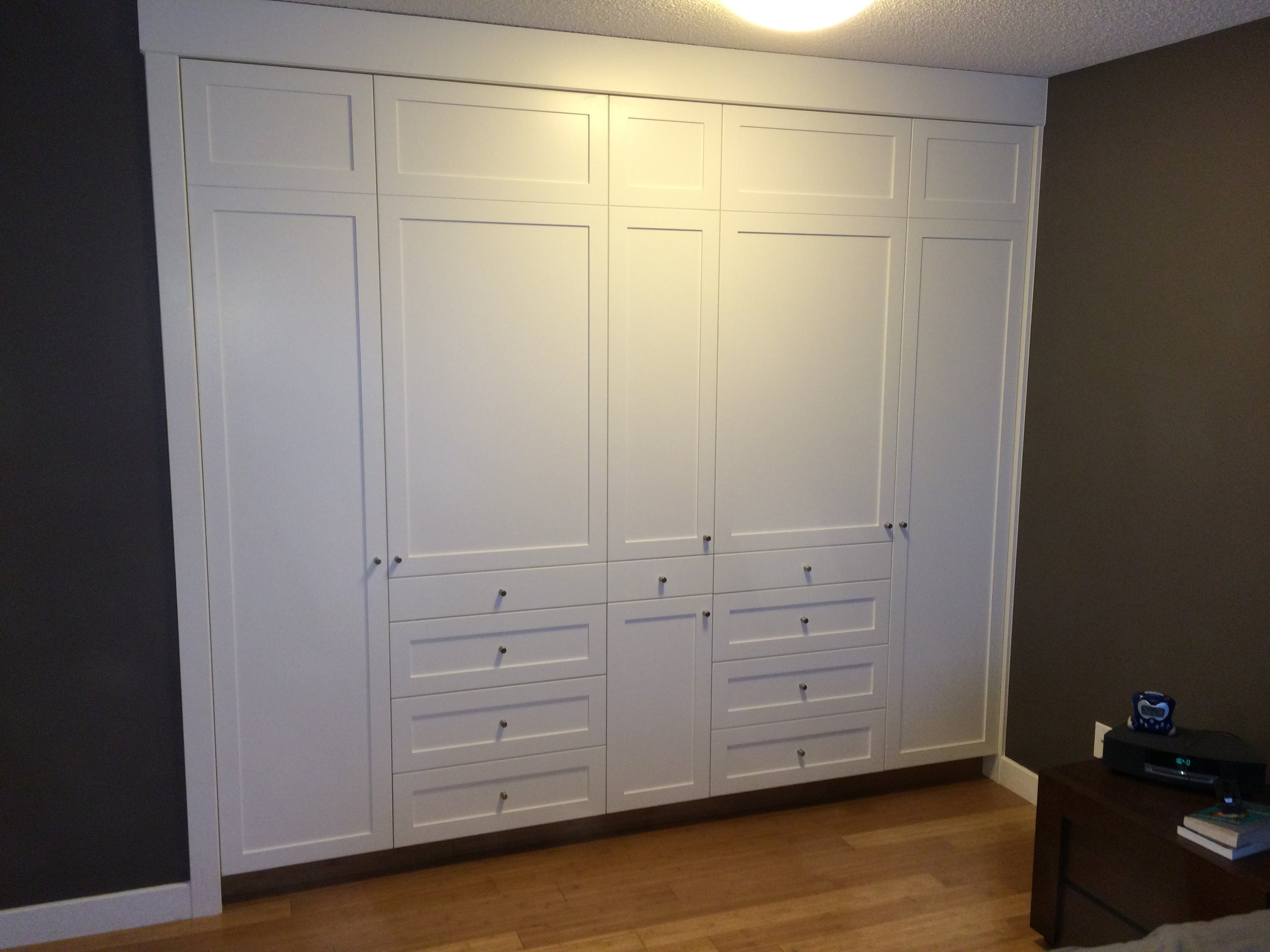 New Cabinetry Closet