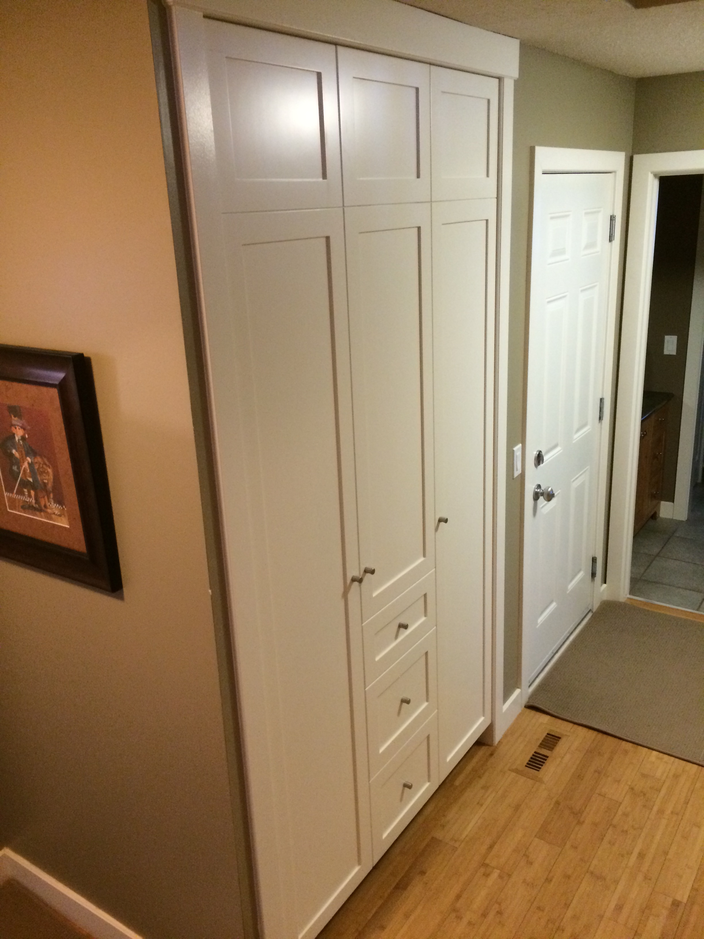 New Main Floor Closet
