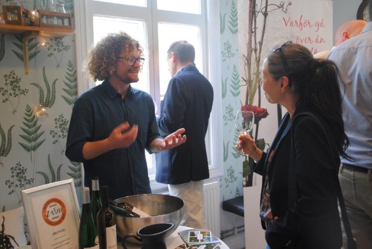 Victor Dahl från Kullahalvöns Vingård