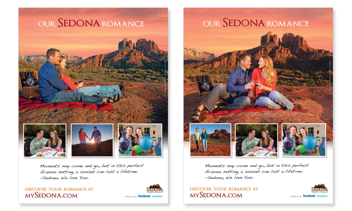 Ad Design for Sedona Tourism