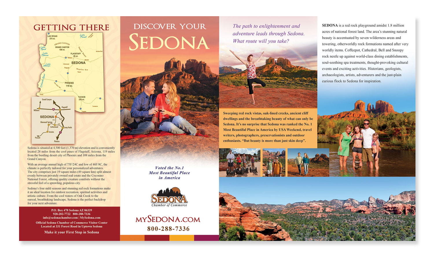 Brochure Design for Sedona Tourism
