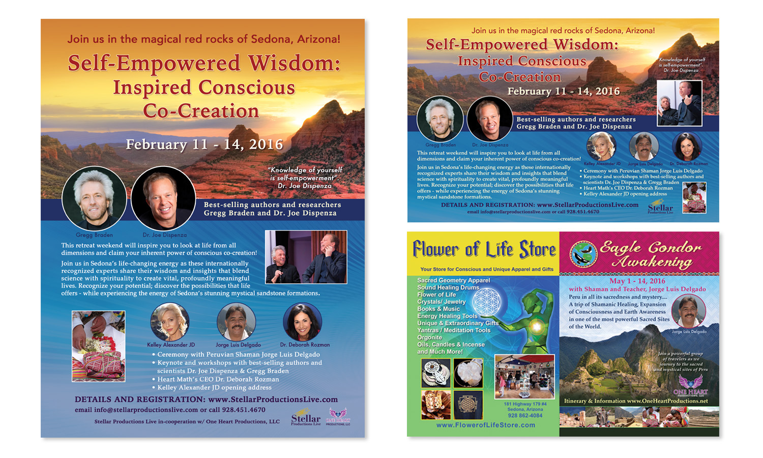 Self Empowered Wisdom Conference Advertising