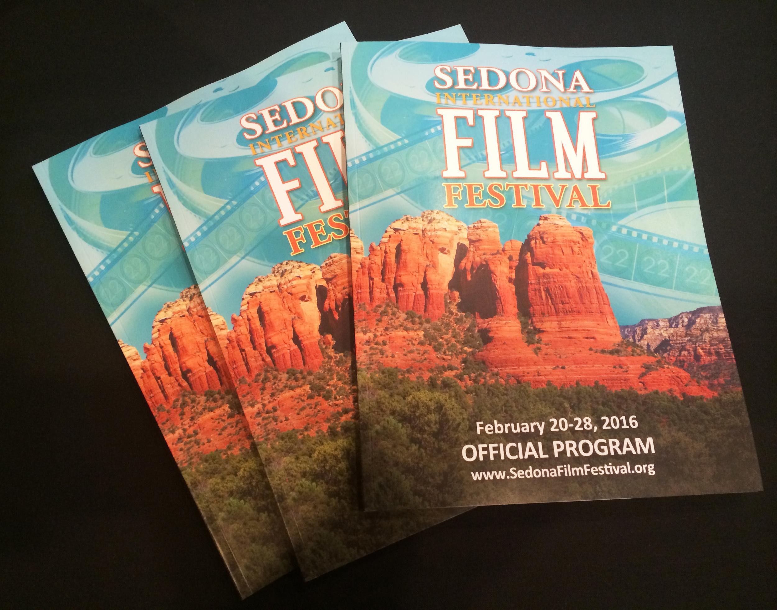2016 Sedona International Film Festival Program back from the printer.