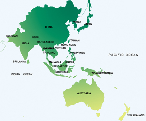 And there is New Zealand, tucked into the corner and barely making the Pacific Rim photo...