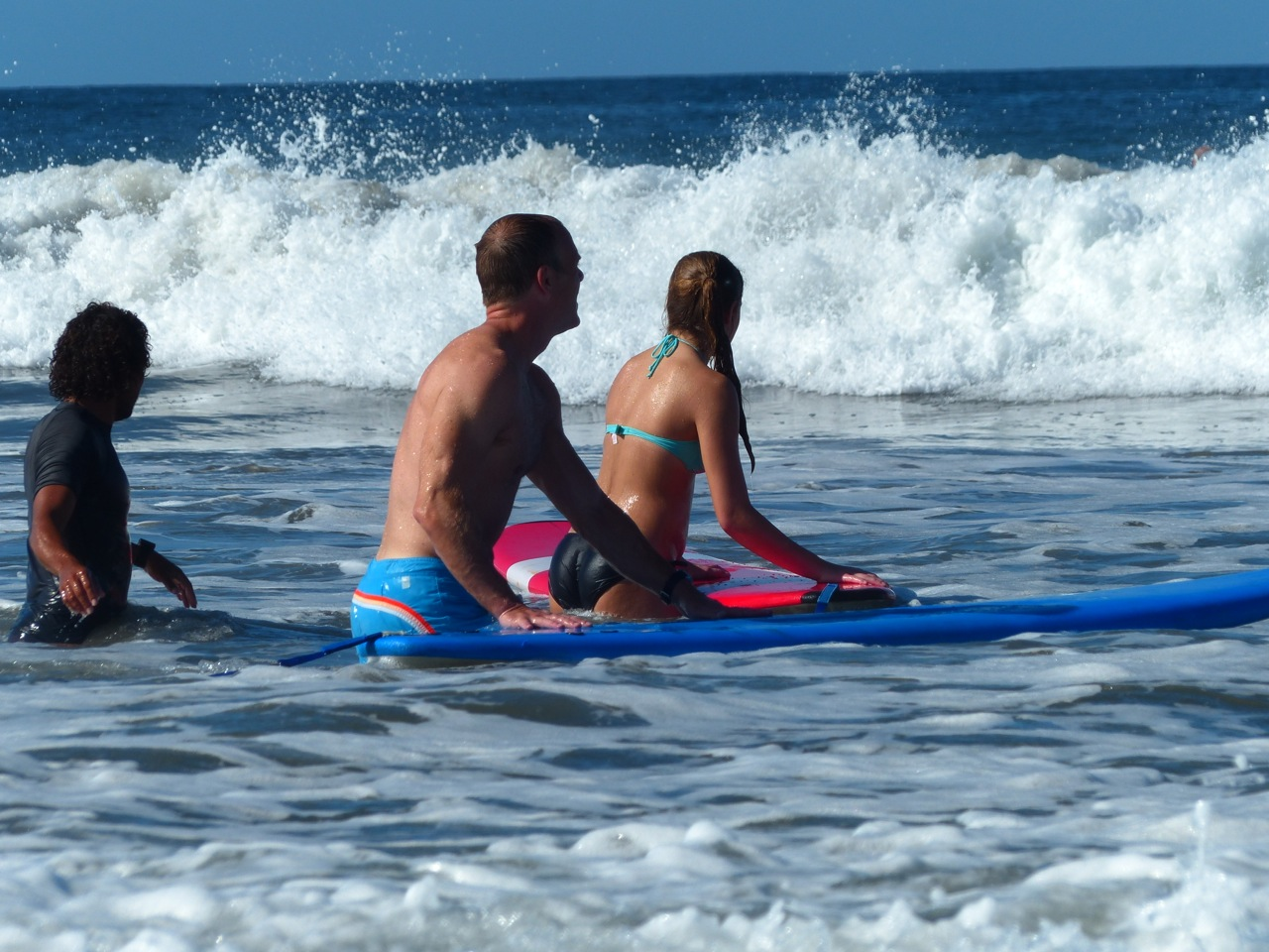 Family surf day