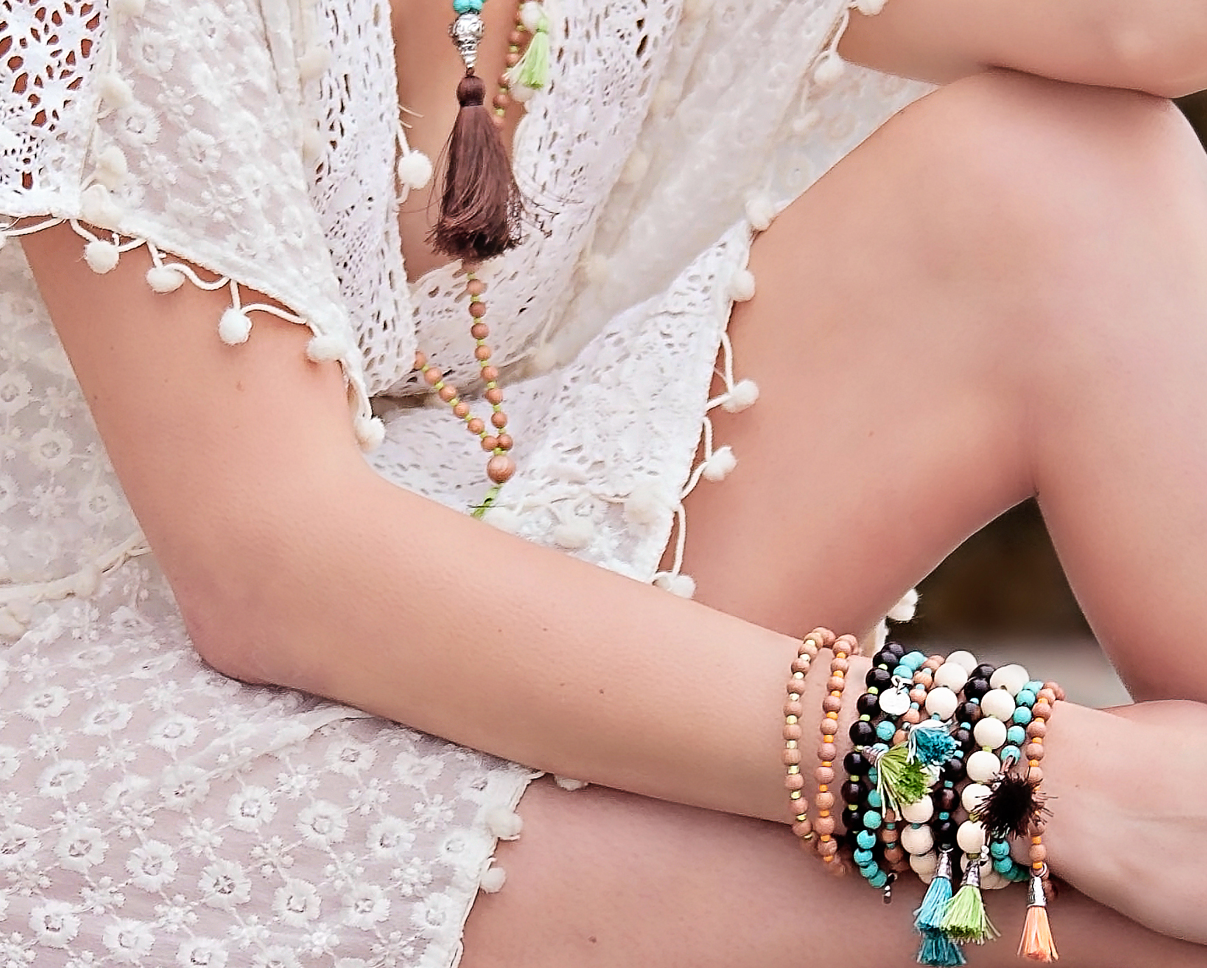 The Moda Mala summer collection is full of bright hues and beautiful, sustainable beads sourced from the Philippines.