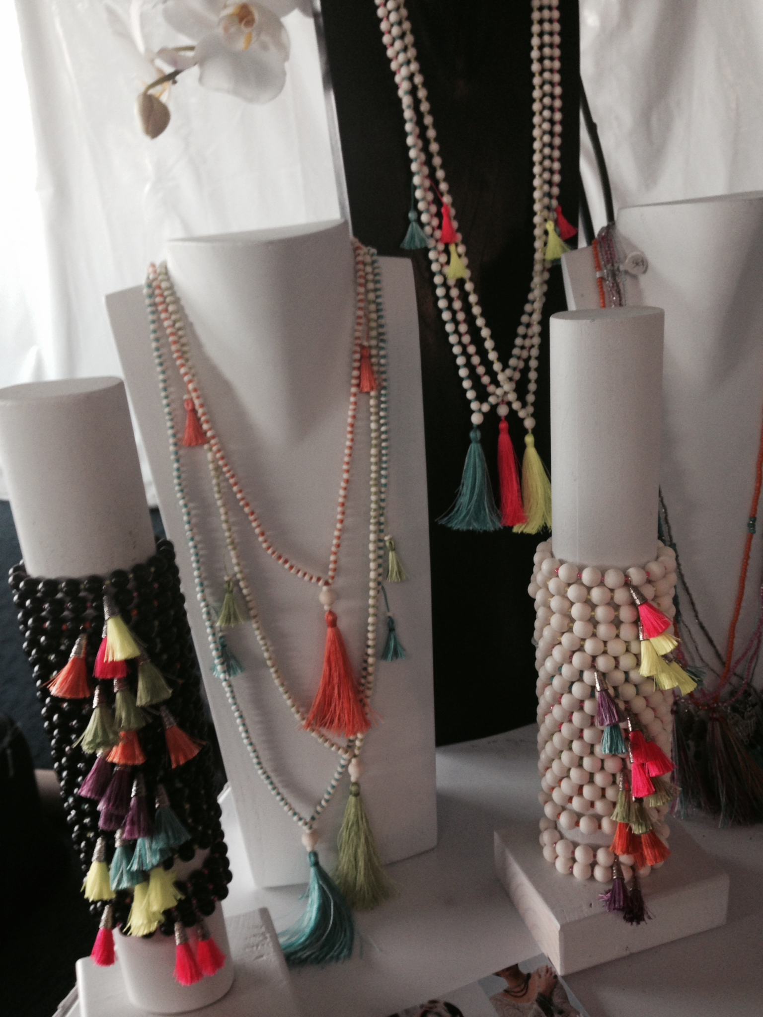 Our Moda Mala Collection makes its first debut at Yoga Journal Live!