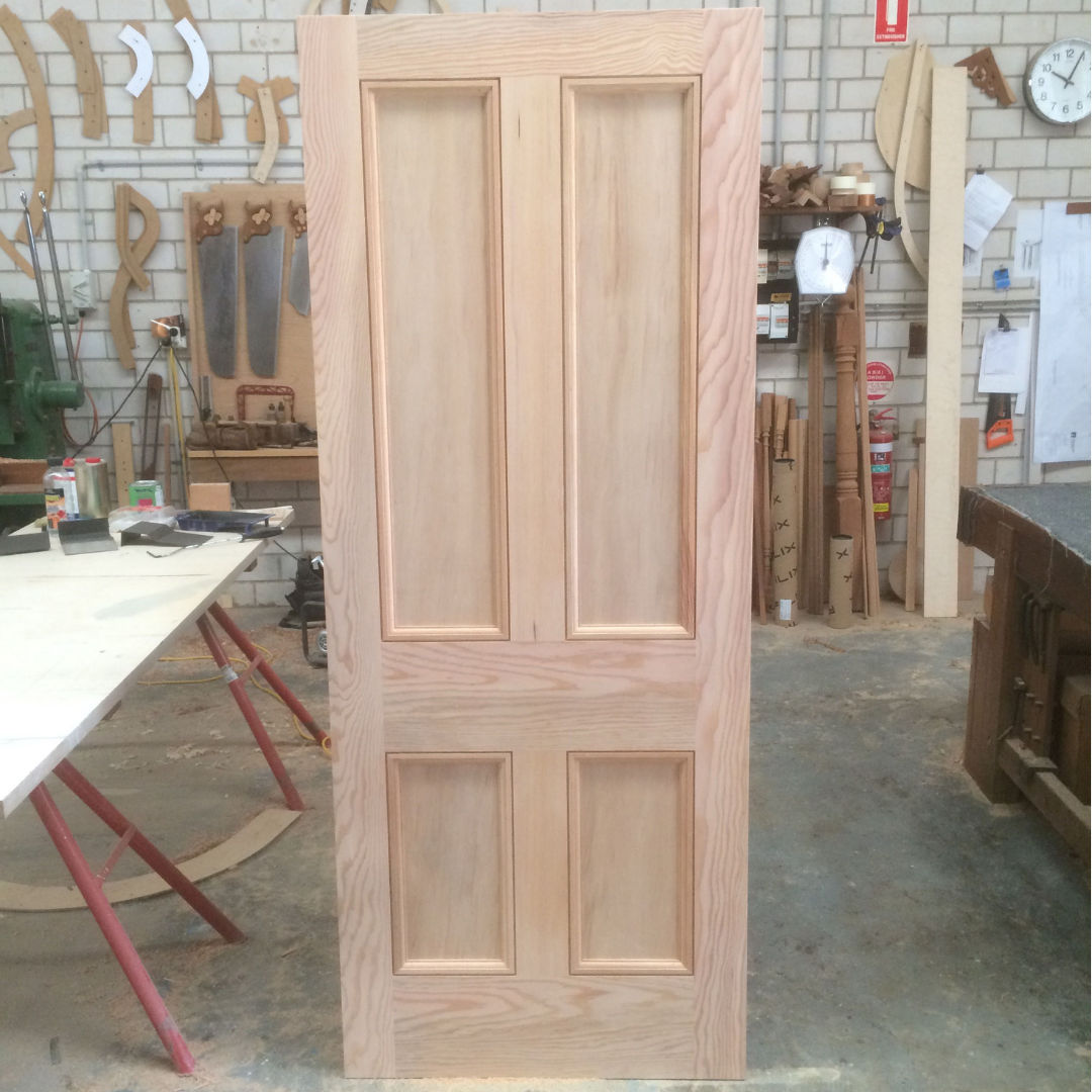 mid century door in douglas fir oregon.jpg