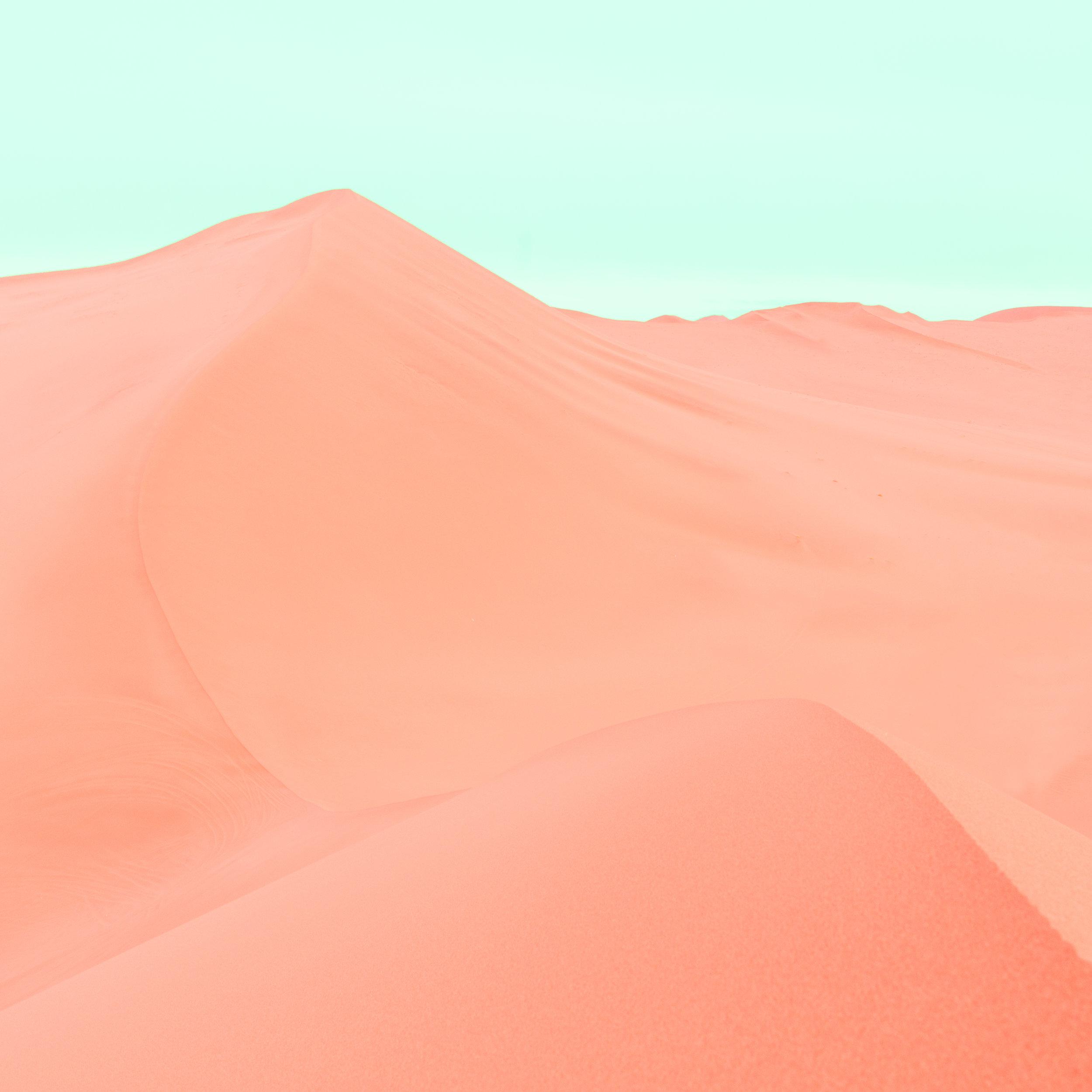 Dunes Orange Blue