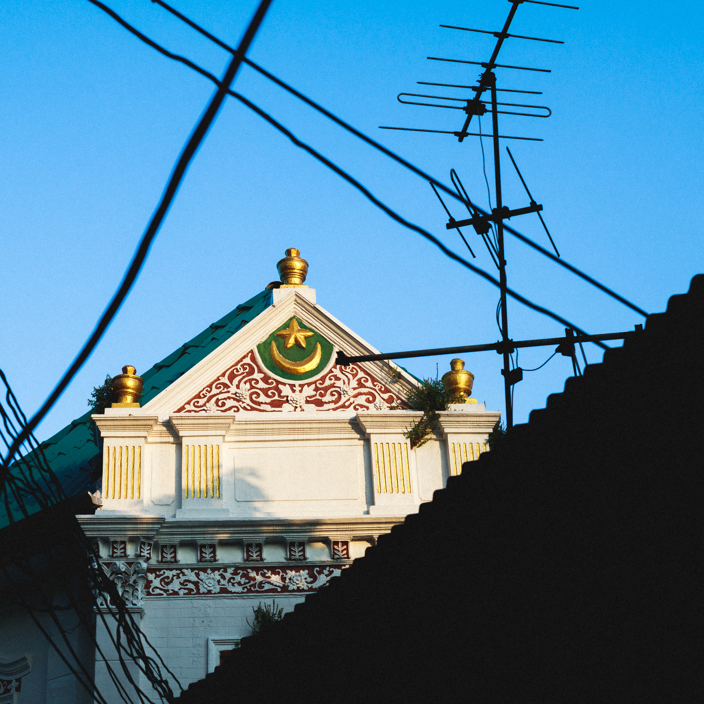 Muslim quarter in Charoen Krung