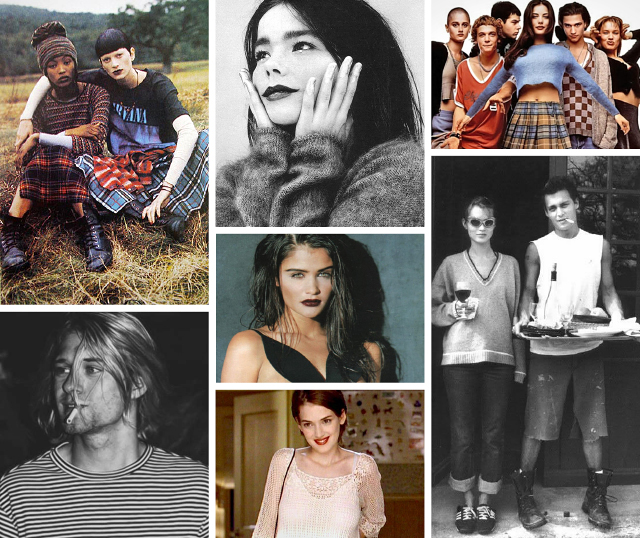 A messy affair – my '90s fashion inspirations