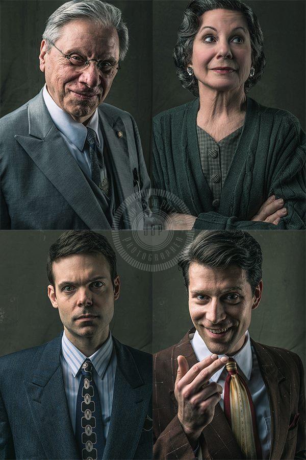 clockwise from top...Robert Walden (Willy); Carolyn Mignini (Linda); Myself (Happy); Avery Clark (Biff)  photo: John David Pittman