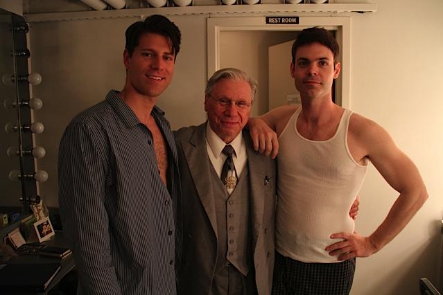 Myself, Robert Walden and Avery Clark